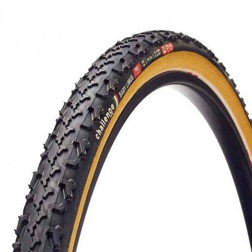 Challenge Tires Baby Limus Pro Tire 700 X 33C Folding Tubular PPS 300TPI Black/Tan - 11715