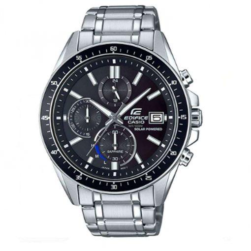 Casio Men's Edifice Stainless Steel Casual Watch - Silver Toned - EFSS510D-1AV