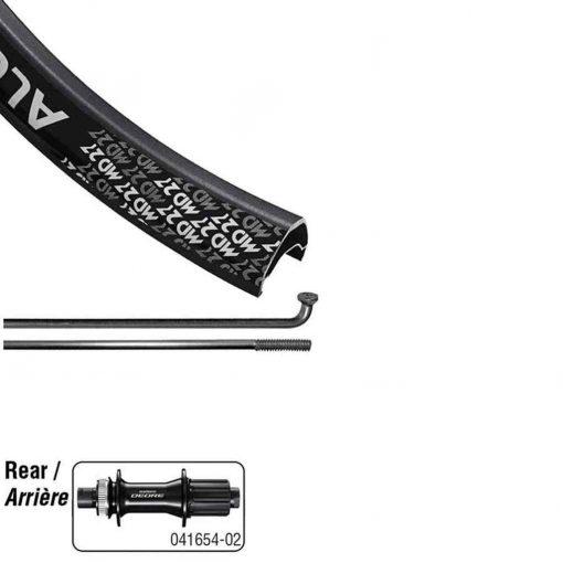 Wheel Shop Alex MD27/ Shimano M6010 Boost 27.5 Wheel Rear 27.5 / 584 - CG-2019-02-26--18