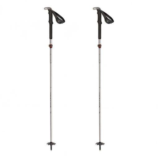 Atomic BCT Mountaineering SQS Ski Poles - Silver/Grey - AJ5005454-NS