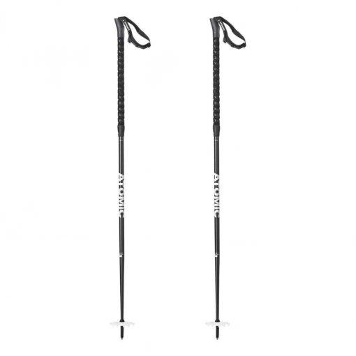 Atomic BCT Freeride SQS Ski Poles - Black/White - AJ5005558