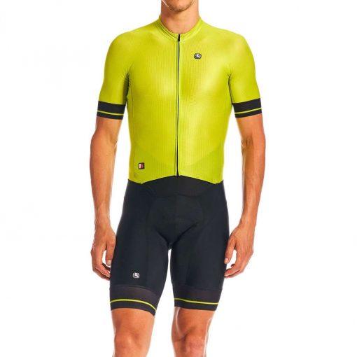 Giordana 2020 Men's FR-C Pro Cycling Doppio Suit - GICS20-SSDS-FRCP-LIME