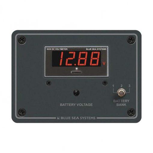 Blue Sea DC Digital Voltmeter Panel - 8051