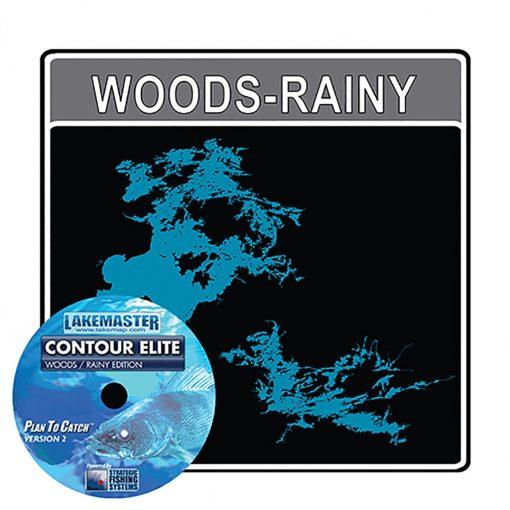 Humminbird Lakemaster PC Software Contour Elite Woods/RaIny - 600028-1