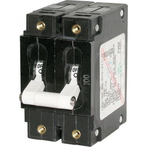 Blue Sea C-Series Double Pole Circuit Breaker
