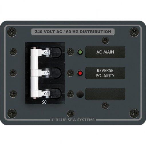 Blue Sea Systems Panel 120/240Vac Main - 7372