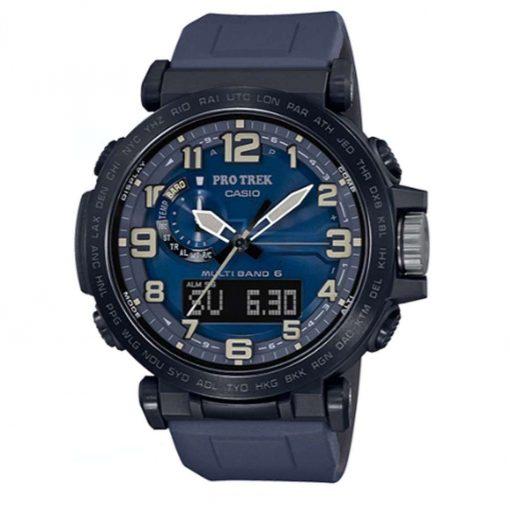 Casio Pro Trek Outdoor Watch - Black/Blue - PRW6600Y-2