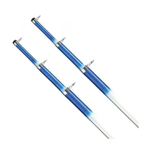 Tigress 15ft Telescoping Fiberglass Outrigger Poles - 1-1/8in Diameter - 88200