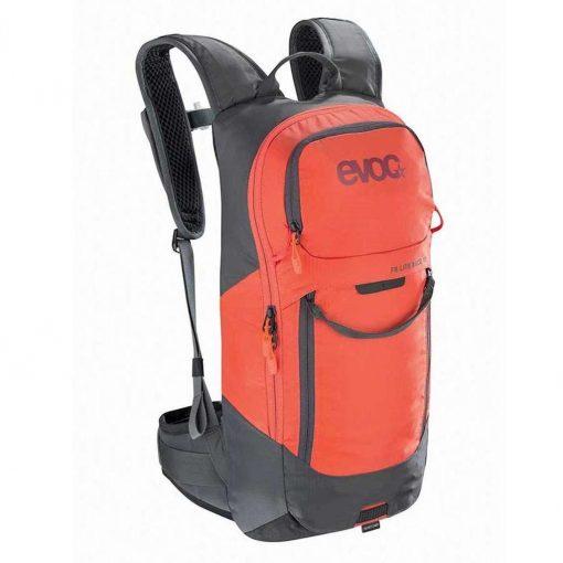 EVOC FR Lite 10L Protector Backpack - Carbon Grey/Orange - Medium - 100115125-M/L