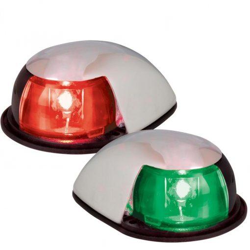 Perko LED Horizontal Mount Sidelight-Red/Green - 0622DP0CHR