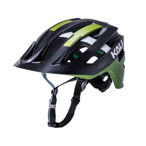 Kali Protectives Adult Interceptor MTB Cycling Helmet - Flex Matte Black/Khaki - 022131911
