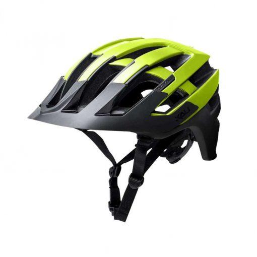 Kali Protectives Adult Interceptor MTB Cycling Helmet - Halo Matte Fluo Yellow/Black - 022131811