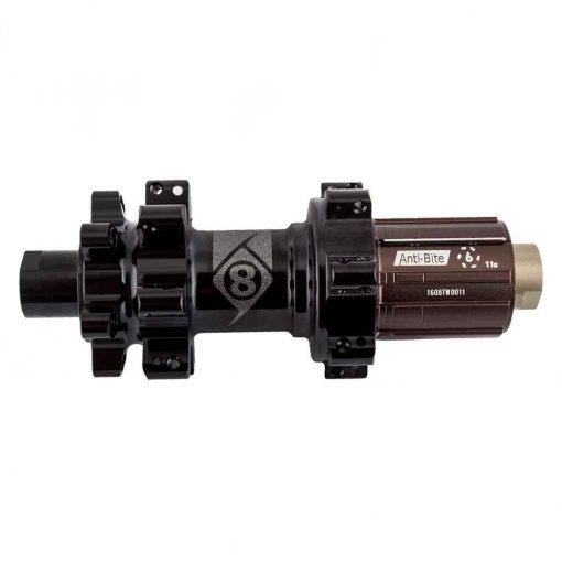 Origin8 Hub Rear Cx/Gx1110 Elite 12Mmta 6B 28X142 11S Cass Sb Black Straight Pull - BX401R-142(M12)