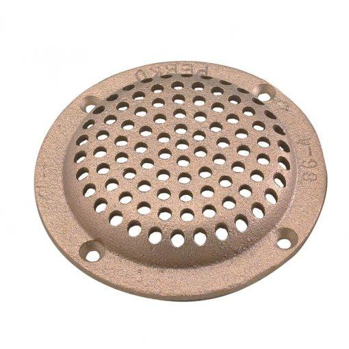 """Perko 8"""" Round Bronze Strainer - 0086007PLB"""