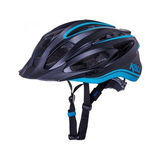 Kali Protectives Adult Alchemy MTB Cycling Helmet - Solar Matte Black/Blue - 022141923
