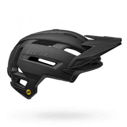 Bell Sports Super Air MIPS Bicycle Helmet - MATTE-GLOSS BLACK