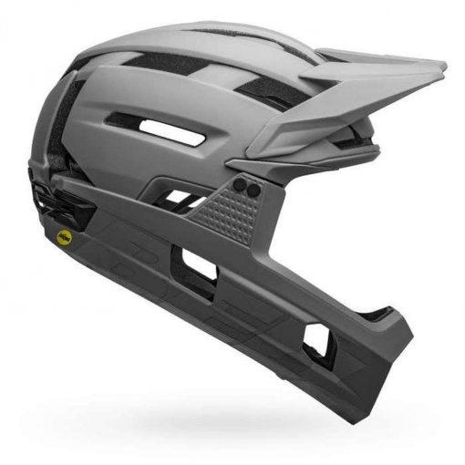 Bell Sports Super Air R MIPS Bicycle Helmet - MATTE-GLOSS GRAYS