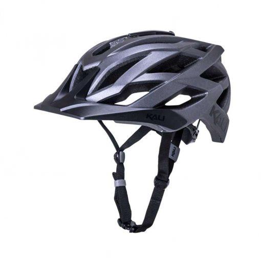Kali Protectives Adult Lunati MTB Cycling Helmet - Solid Matte Titanium - 022111921