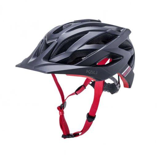 Kali Protectives Adult Lunati MTB Cycling Helmet - Sync Matte Black/Red - 022112013