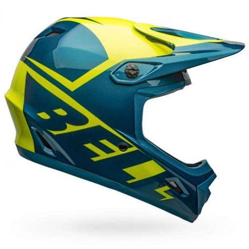 Bell Sports Transfer Bike Helmet - SLICE GLOSS BLUE-HI-VIZ