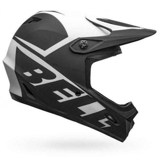 Bell Sports Transfer Bike Helmet - SLICE MATTE BLACK-WHITE
