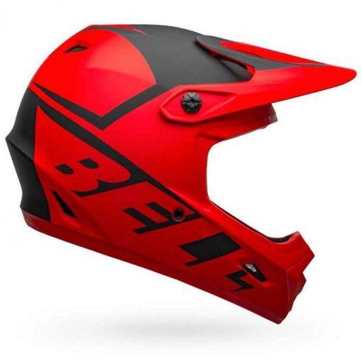 Bell Sports Transfer Bike Helmet - SLICE MATTE RED-BLACK