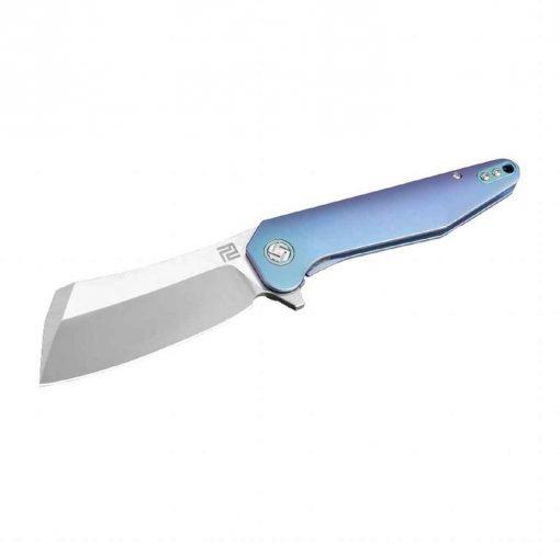 Artisan Cutlery Osprey Folder 3.74 Inch M390 Blade Black Titanium Handle - 1803G-BUM