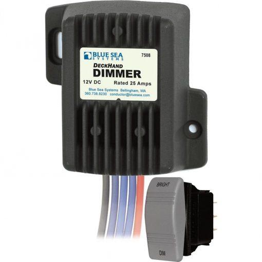 Blue Sea 7508 DeckHand Dimmer-25 Amp/12V - 7508
