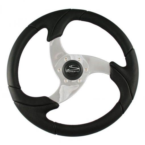 "Schmitt Folletto Wheel 14.2"" 3/4"" Tapered Shaft Black Polis - PU026101"