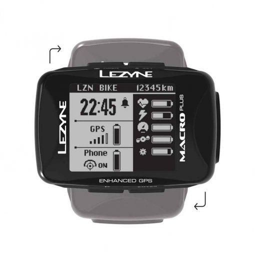 Lezyne Macro Plus GPS Black - 1-GPS-MACRO-V204