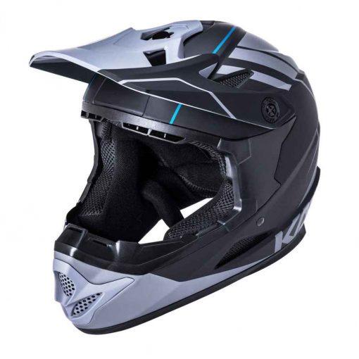 Kali Protectives Zoka Eon Full Face Helmet - Matte Black/Gray|XL - 210620118