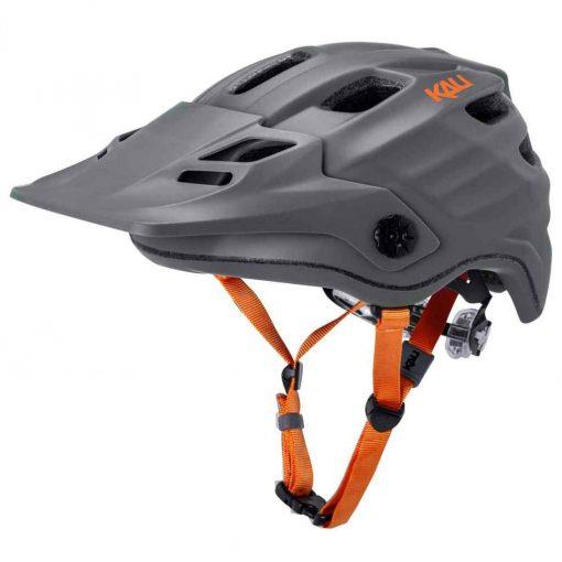 Kali Protectives Maya 2.0 Enduro Helmet - Matte Gray Orange|S/M - 37888086