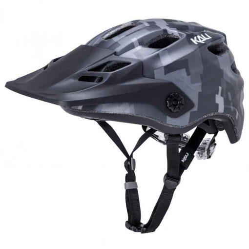 Kali Protectives Maya 2.0 Enduro Helmet - Pixel Matte Black|L/XL - 37888143