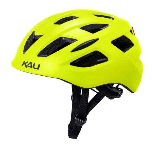 Kali Protectives Central Urban Helmet - Matte Fluorescent Yellow|L/XL - 250519137