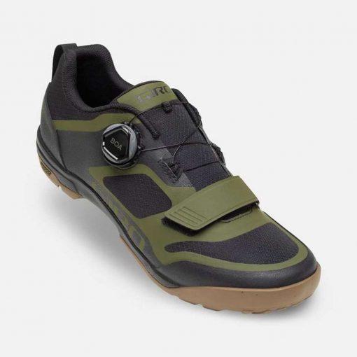 Giro Ventana Mountain Bike Shoes - Black/Olive - 71178