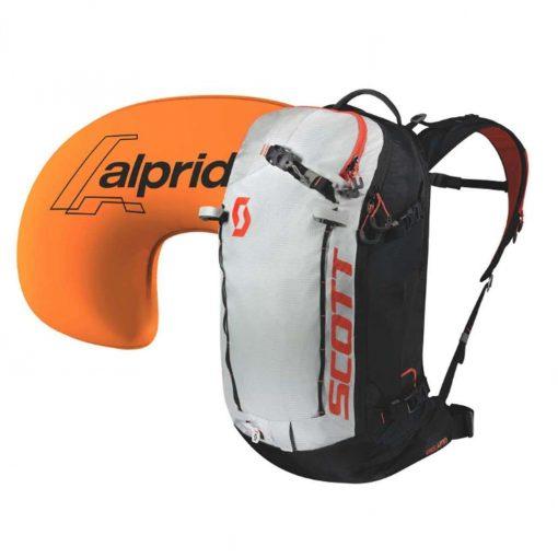 Scott 2019 Patrol E1 30 Backpack Kit - Black/Tangerine Orange - 267449-4656815