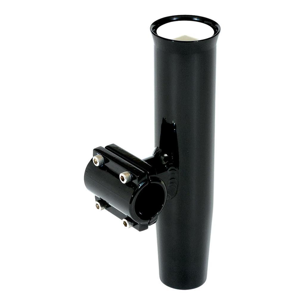 Lee's Tackle Clamp-On Rod Holder - Black Aluminum - Horizontal Mount - Fits 1 - RA5201BK