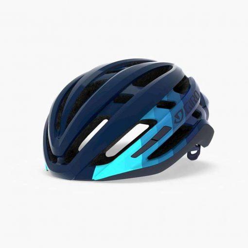 Giro Agilis MIPS Road Cycling Helmet - Matte Iceberg/Midnight Bars - 711460