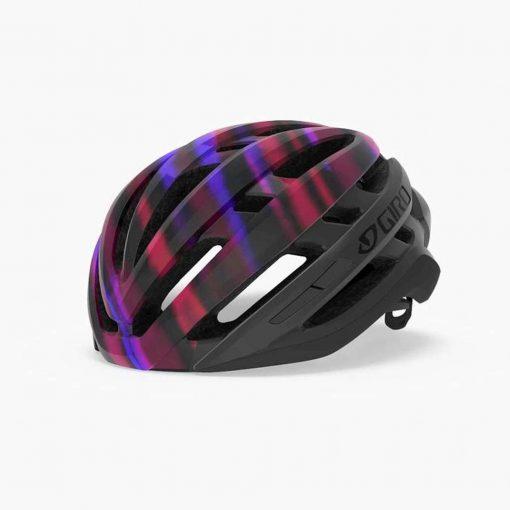Giro Women's Agilis MIPS Road Cycling Helmet - Matte Black/Electric Purple - 711286