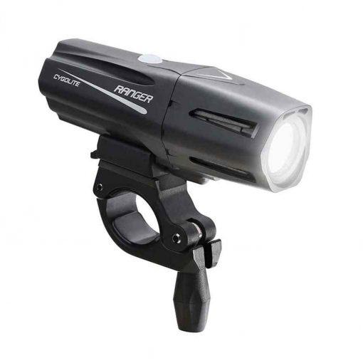 Cygolite Ranger 1400 USB Light Front Black - RGR-1400-USB