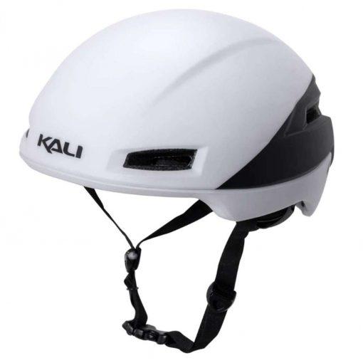 Kali Protectives Adult Tava Road Cycling Helmet - Flow Matte White/Black - 024051821
