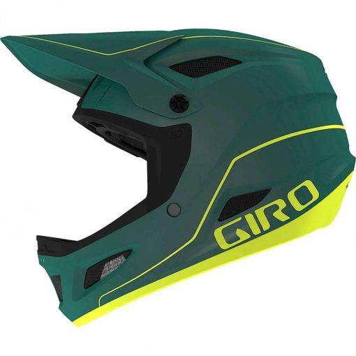 Giro Men's Disciple MIPS Downhill Bike Helmet - Matte True Spruce/Citron - 711401