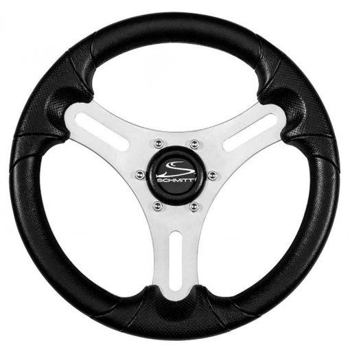 "Ongaro 13"" Torcello Lite - Polyurethane Wheel - 3/4"" Tapered Shaft - Silver/Black - PU063104-01"