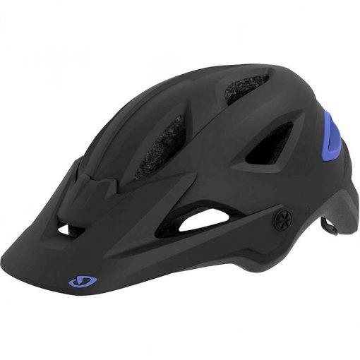 Giro Women's Montara MIPS Trail Cycling Helmet - Matte Black/Electric Purple - 711406