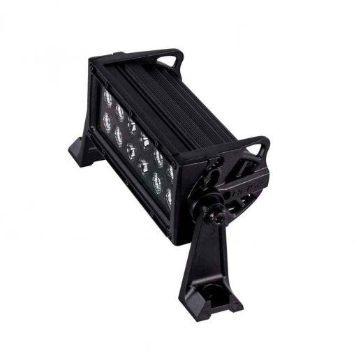 Heise 8 Inch Dual Row Led Light Bar Blackout - HE-BDR8