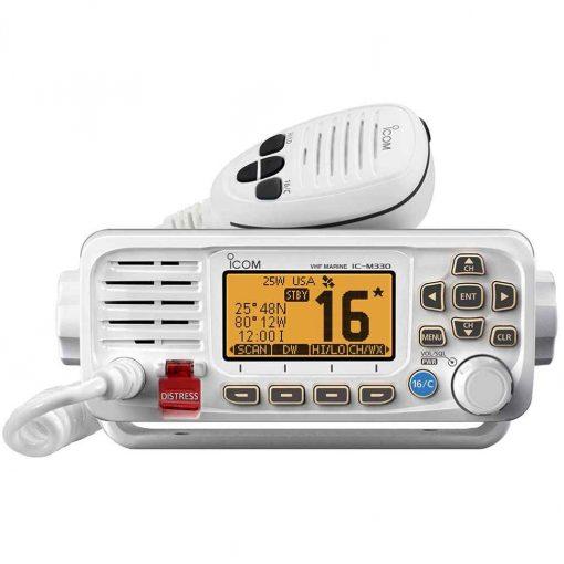 Icom M330 Compact VHF Radio with GPS White - 69887