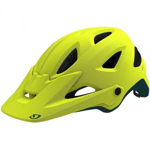 Giro Men's Montaro MIPS Trail Cycling Helmet - Matte Citron/True Spruce - 711408