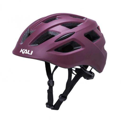 Kali Protectives Adult Central Urban Helmet - Solid Matte Berry - 025051916