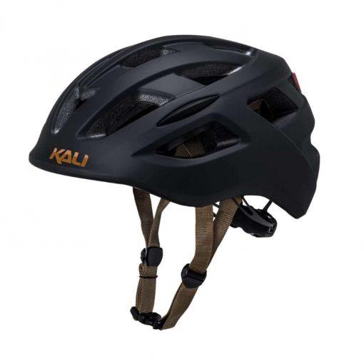 Kali Protectives Adult Central Urban Helmet - Solid Matte Black - 025051914