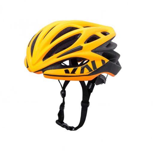 Kali Protectives Adult Loka Road Helmet - Valor Matte Hi Viz Orange/Black - 024021911